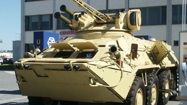 BTR-3E1 de las Fuerzas Armadas de Ucrania - Sputnik Mundo
