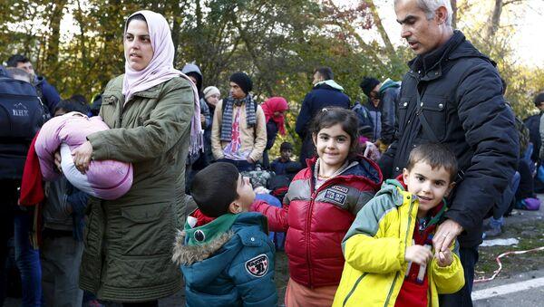 Los refugiados en Alemania - Sputnik Mundo