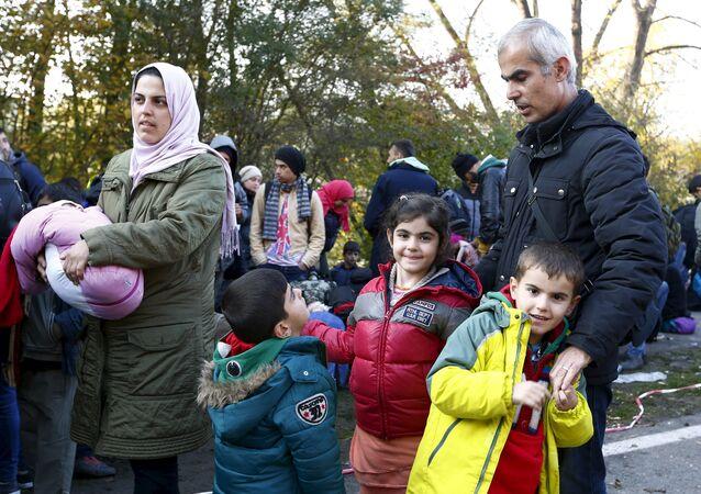 Los refugiados en Alemania