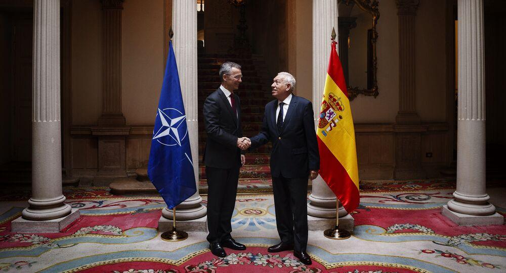 Secretario general de la OTAN, Jens Stoltenberg y ministro de Asuntos Exteriores de España, José Manuel García Margallo