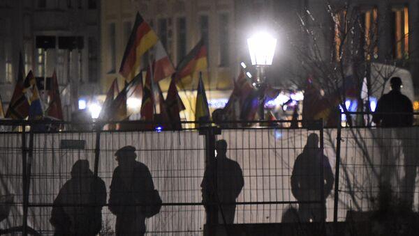 Manifestaciones antiislámicos en Alemania - Sputnik Mundo