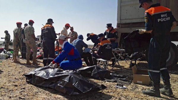 Los rescatistas rusos seguirán otros dos días las operaciones en Sinaí - Sputnik Mundo