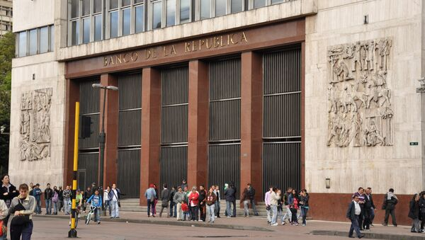 Banco central de Colombia - Sputnik Mundo