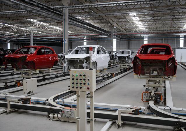 La industria automovilística de Brasil (archivo)