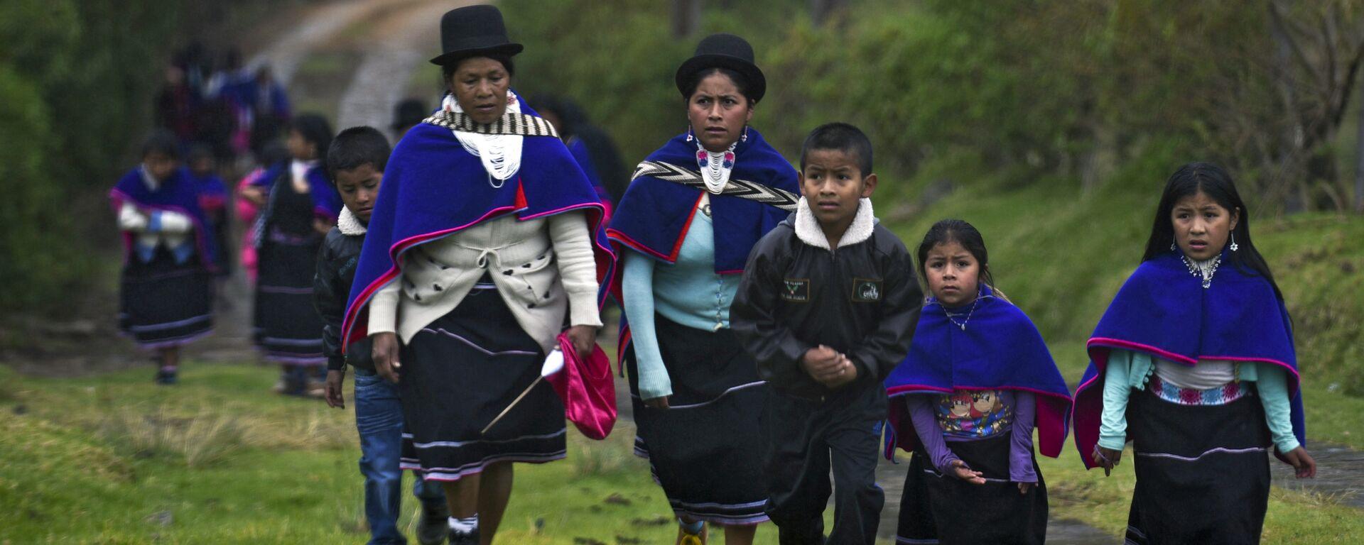 Una de las comunidades indígenas de Colombia - Sputnik Mundo, 1920, 10.06.2021