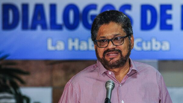 Iván Márquez, el jefe del equipo negociador de las FARC - Sputnik Mundo
