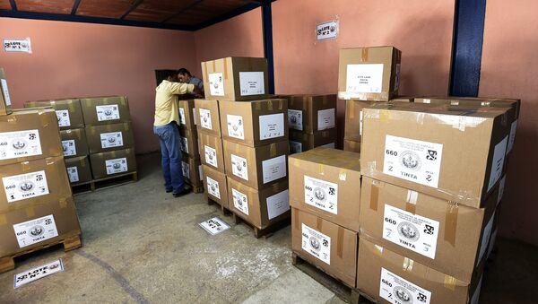 Preparación para las elecciones en Caracas, Venezuela - Sputnik Mundo