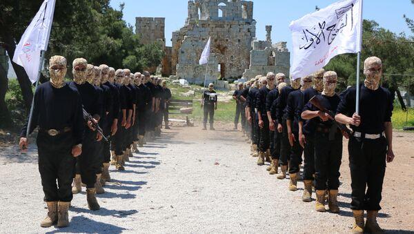 Combatientes del Ejército Libre Sirio (ELS) - Sputnik Mundo