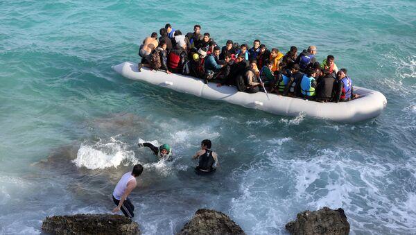 Refugiados en Turquía (archivo) - Sputnik Mundo