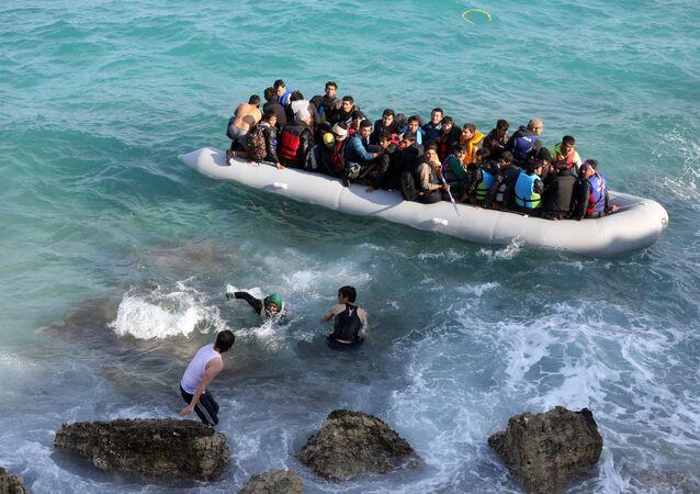Refugiados en Turquía (archivo)