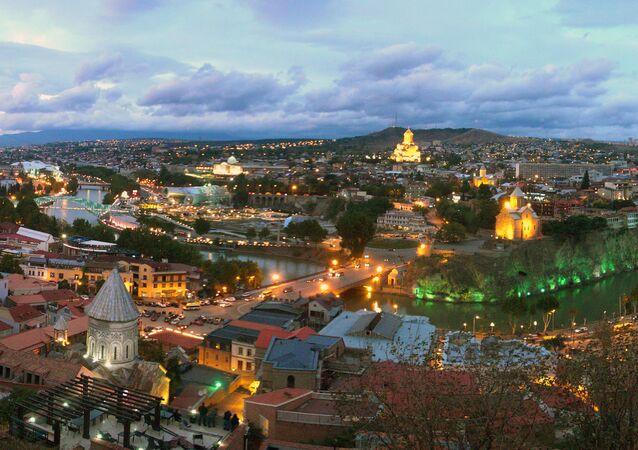 Tiflis, capital de Georgia