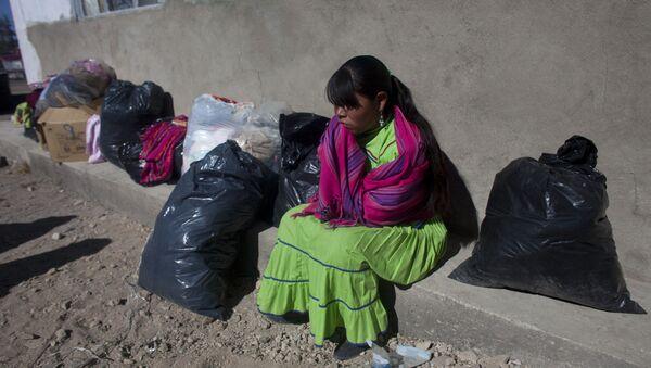 Una mujer indígena en México (archivo) - Sputnik Mundo