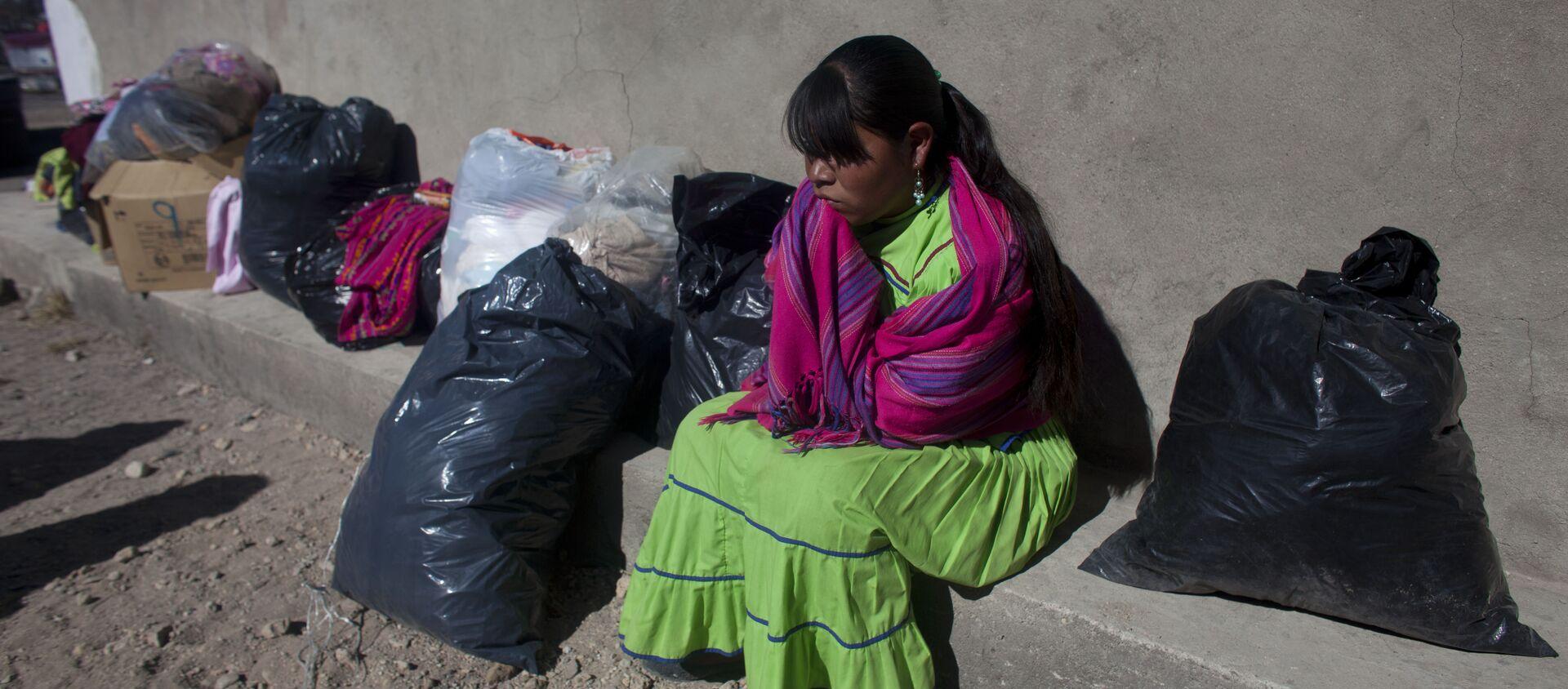 Una mujer indígena en México (archivo) - Sputnik Mundo, 1920, 04.12.2020