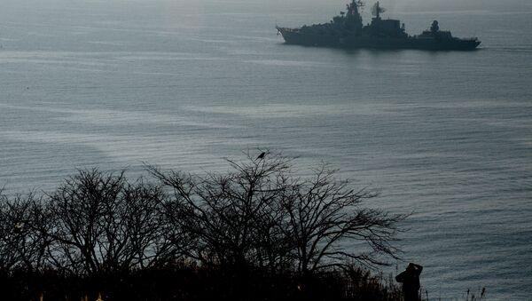 Crucero portamisiles ruso Variag en ruta hacia el Océano Índico - Sputnik Mundo