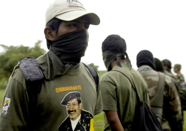 Rebeldes de las FARC (Archivo)