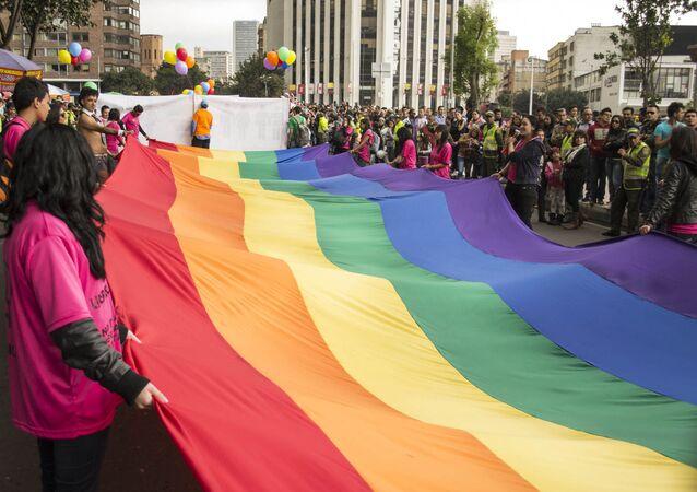 Marcha LGBT en Bogotá