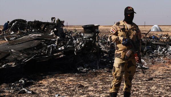 Lugar del siniestro del Airbus A321 ruso en Egipto - Sputnik Mundo