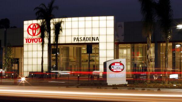 Oficina de Toyota en California - Sputnik Mundo