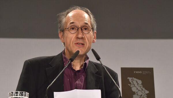 Gerard Biard, redactor jefe de Charlie Hebdo - Sputnik Mundo