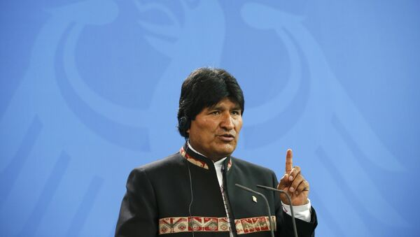 El Presidente de Bolivia Evo Morales - Sputnik Mundo