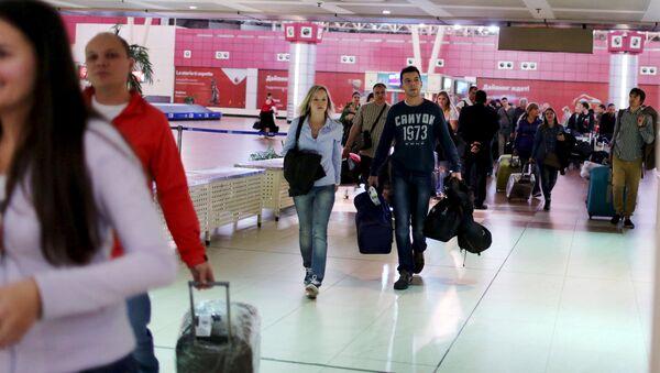Turistas rusos en Egipto - Sputnik Mundo