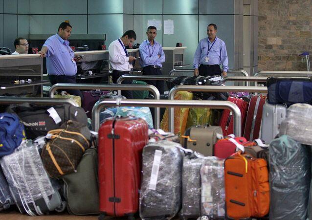 El aeropuerto de Sharm el Sheij