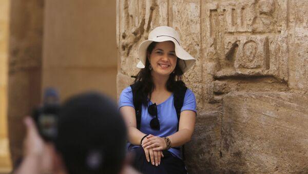 Turistas en Egipto - Sputnik Mundo