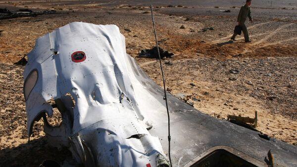 Lugar del siniestro del A321 ruso en Egipto - Sputnik Mundo