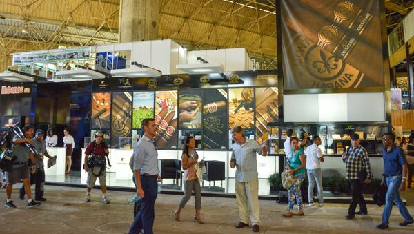 Visitantes en la 33ª Feria Internacional de La Habana (FIHAV) - Sputnik Mundo
