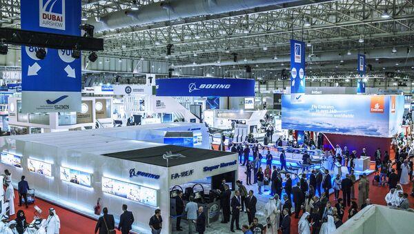 Salón Aeronáutico Internacional Dubái Airshow-2015 - Sputnik Mundo