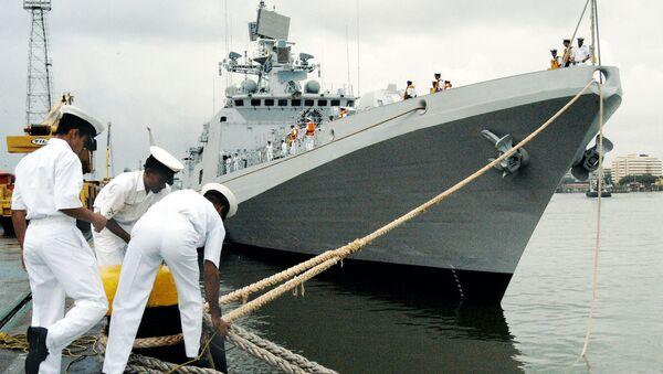 Trishur, fragata de clase Talwar - Sputnik Mundo