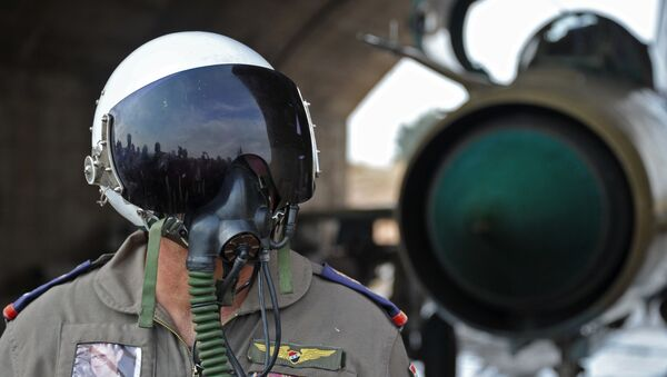 Piloto sirio - Sputnik Mundo