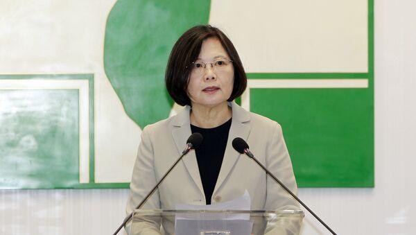 Tsai Ing-wen, la líder de la oposición en Taiwán - Sputnik Mundo