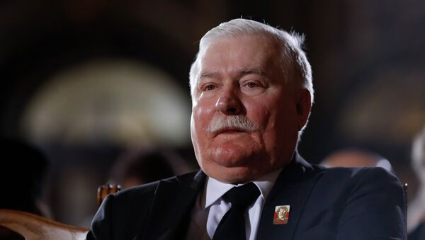 Lech Walesa, expresidente de Polonia (archivo) - Sputnik Mundo