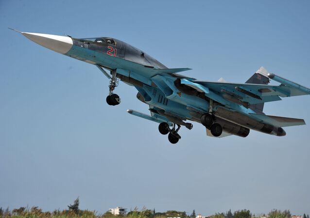Su-34 de las Fuerzas Aéreas de Rusia