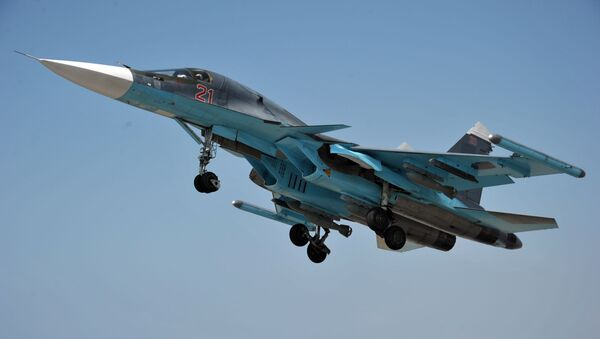 Su-34 de las Fuerzas Aéreas de Rusia - Sputnik Mundo