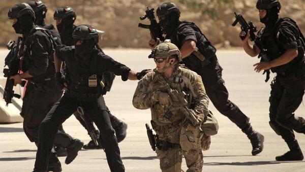 Fuerzas especiales de Irak, EEUU y Jordania conducen ejercicios conjuntas en Amán, Jordania - Sputnik Mundo