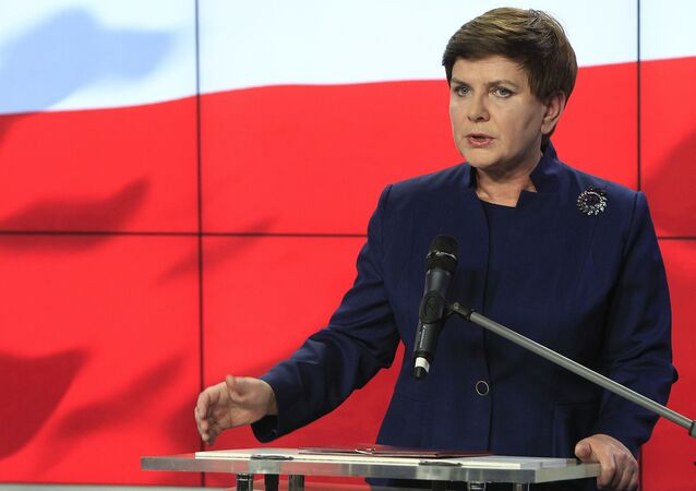 Beata Szydlo, candidata al puesto de primera ministra de Polonia de la facción conservadora