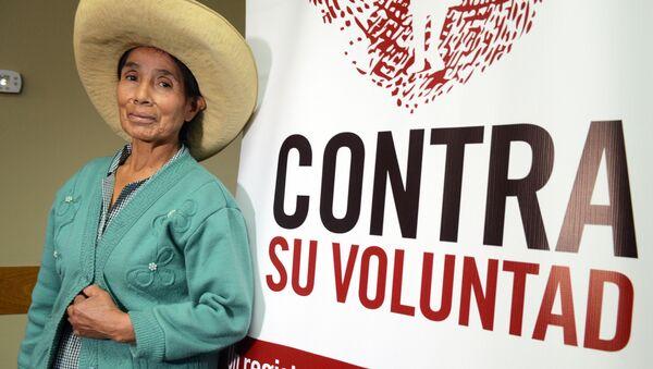 Campaña en apoyo a la creación del registro de víctimas de esterilizaciones forzadas en Perú - Sputnik Mundo