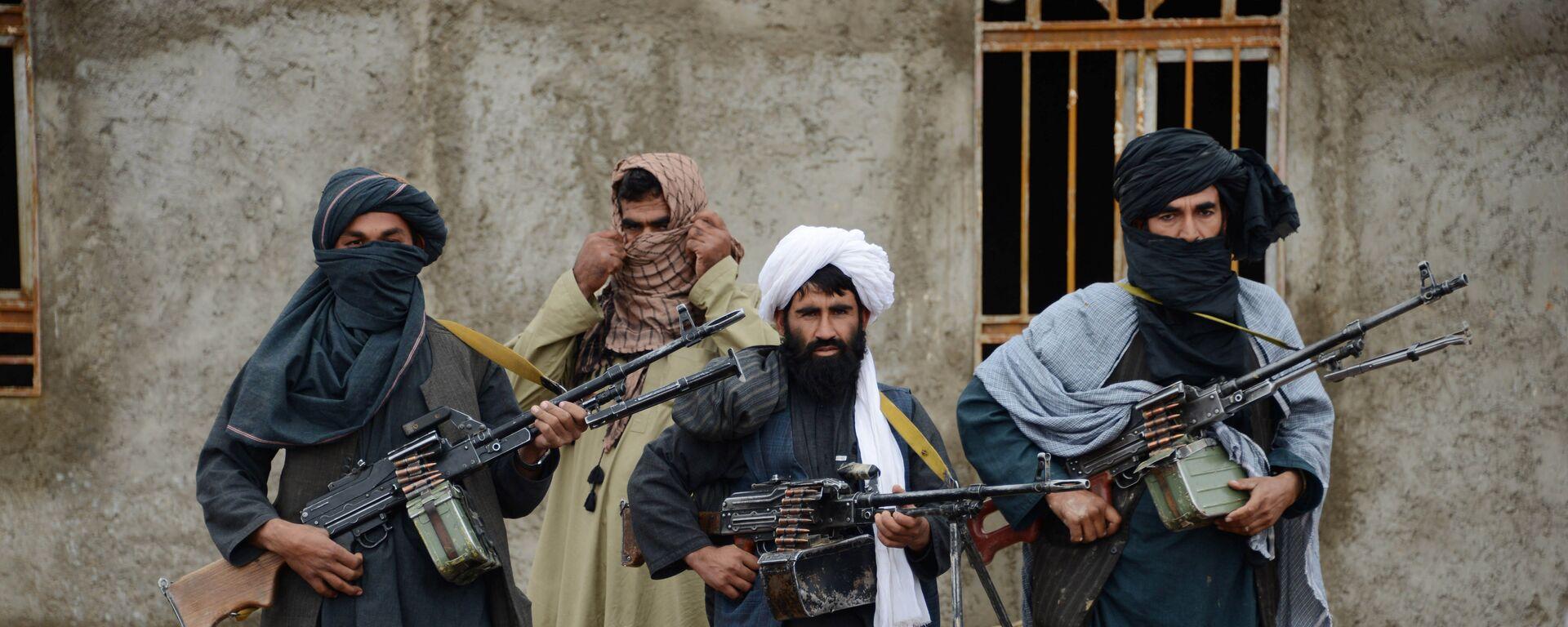 Talibanes afganos - Sputnik Mundo, 1920, 30.06.2021