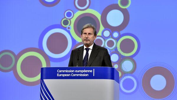 European Neighbourhood Policy and Enlargement Negotiations Commissioner Johannes Hahn - Sputnik Mundo