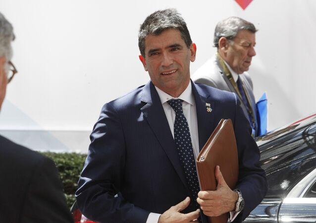 Raúl Sendic, exvicepresidente de Uruguay (archivo)