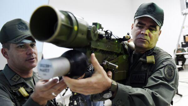 Vladimir Padrino, ministro de Defensa de Venezuela - Sputnik Mundo