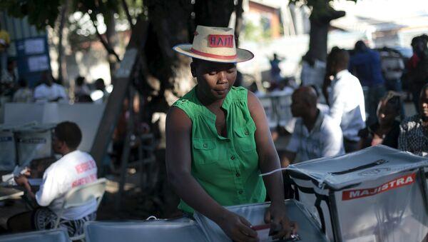 Elecciones en Haití - Sputnik Mundo