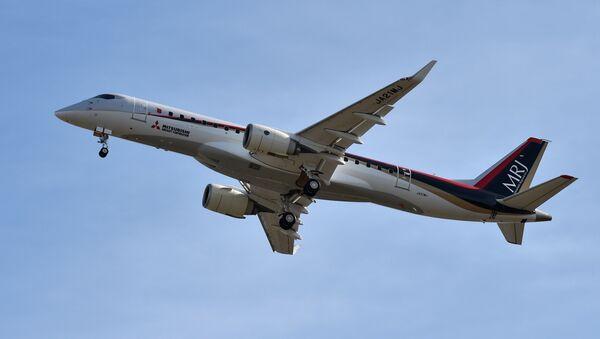 Avión japonés MRJ - Sputnik Mundo