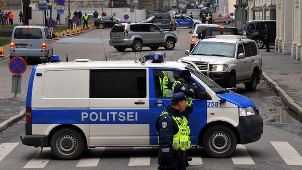 Policía estonia - Sputnik Mundo