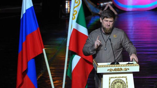 Ramzán Kadírov, dirigente de la República de Chechenia - Sputnik Mundo