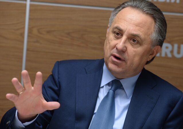 Vitali Mutkó, el viceprimer ministro de Rusia