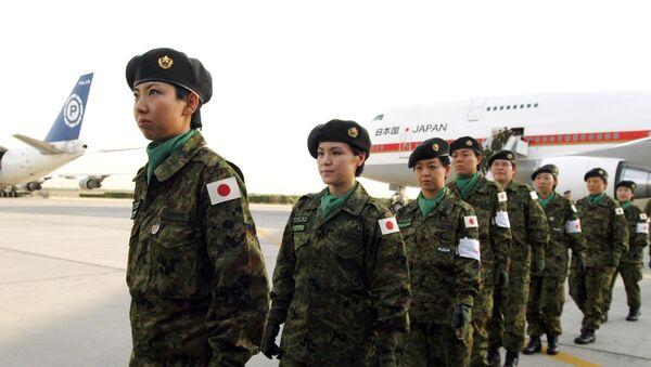 Las soldados de las Fuerzas de Autodefensa de Japón - Sputnik Mundo
