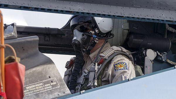 Un piloto ruso en Siria - Sputnik Mundo